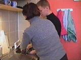 Szex a konyhában anyuval